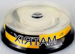 10-Pack Mini MATRIX DVD-R 4X 1.47Gb 30 Min 8cm Blank Recorda