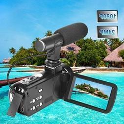 1080p 30FPS Full HD Digital Video Camera Vlogging Camcorder