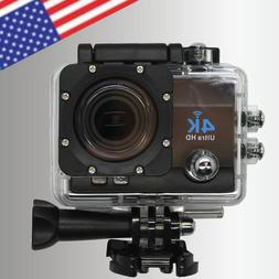 1080P 60FPS WIFI Action Sports Camera 4K Ultra-HD Cam Video
