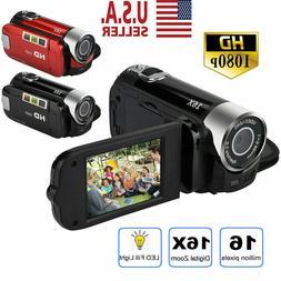 1080P Camcorder Digital Video Camera TFT LCD 24MP 16x Zoom D