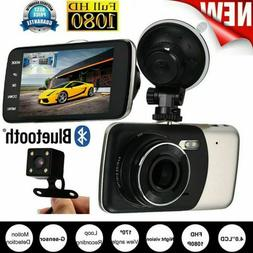 1080P FHD 1.0MP Car DVR Video Recorder Camcorder Wide Angle