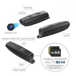 1080P <font><b>Camcorder</b></font> Wearable Body Full HD Di