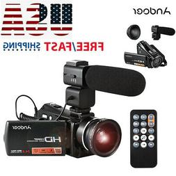 1080P Full HD 24MP Digital Video Camera Camcorder DV Night V