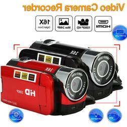 1080P HD 16x Zoom Camcorder Digital Video Camera TFT LCD 24M