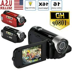 1080P HD Camcorder Digital Video Camera 24MP TFT LCD 16x Zoo