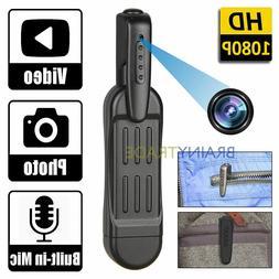1080P HD Pocket Pen Camera Hidden Spy Mini Portable Body Vid