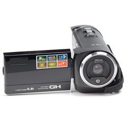 PowerLead  16MP 1280x720 HD Digital Video Camera Recorder Bl