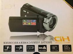 PowerLead  16MP HD Digital Video Camera Recorder Black