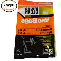 Panasonic 18 U3, U6 Anti-Bacterial Micro-Clean Upright Vacuu