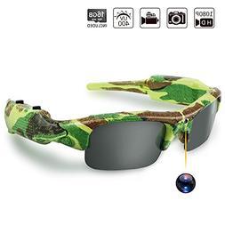 Toughsty Hidden Spy Sunglasses Covert Action Video Camera Re