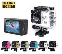 2.0 inch HD 1080P Sports Action Camera 30M Diving Waterproof