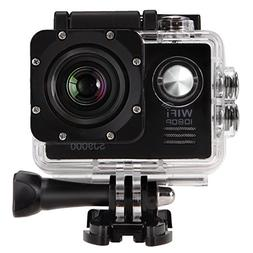2.0'' WIFI 12MP HD 1080P 170° Wide Sports Action Camera, 2.