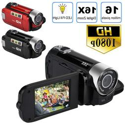 2.7'' HD 16MP 1080P 16X Video Camera TFT LCD Digital Zoom DV