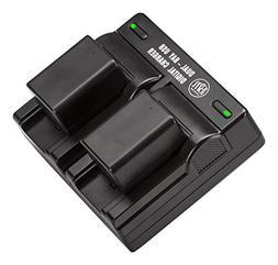 BM Premium 2 BP-718 Batteries and Dual Charger for Canon Vix