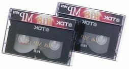 2-pack 120min Hi 8 Video Tape Discontinued by Manufacturer