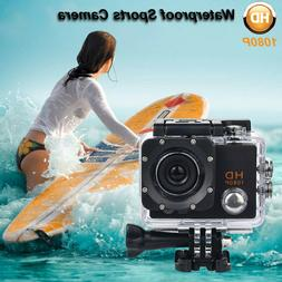 "2"" TFT Waterproof Camera HD 1080P Sport Action Camera DVR Ca"