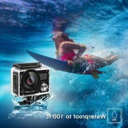 2018 New Akaso Brave 4 Wifi 4K 20MP Action Camera Sony Senso