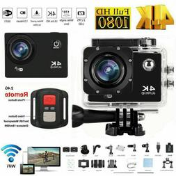 2019 NEW Wifi 1080P 4K Ultra HD Sports Action Camera DVR Cam