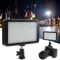228 LED Video Light Pad Panel Studio Lamp Dimmable for Camer