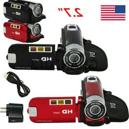 24MP 1080P HD Camcorder Digital Video LCD Camera 16x Zoom DV