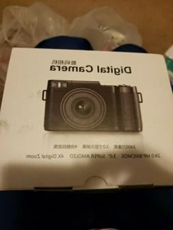 """24MP Full HD Digital Camera with 4x Digital Zoom and 3.0"""" LC"""