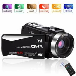 Video Camera Vlogging Camera Camcorder Full HD 1080P 30FPS 2