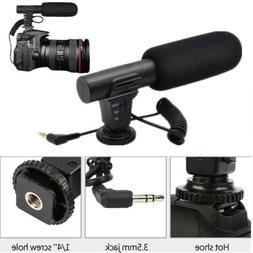 3.5mm Universal Microphone Mic for Canon Nikon DSLR Camera D