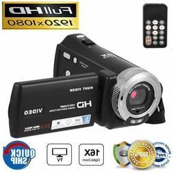 "3"" LCD 1080P 20MP 16X Zoom Digital Camcorder Video DV Camera"