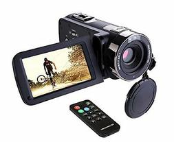 Hausbell 302S FHD Camcorder 1080p Remote Control Infrared Ni