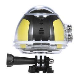 Andoer 360° Panorama Camera Wifi 2448P 16M Fisheye For VR S