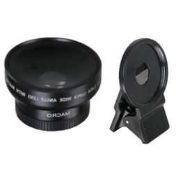 37mm 0.45x HD Wide Angle Macro Lens 49mm For Nikon Canon Cam