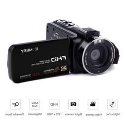 3Inch 16X 4K Full HD Video Camera Wifi Professional <font><b