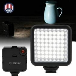 VBESTLIFE 49 LED Video Light Lamp Panel Dimmable for DSLR Ca