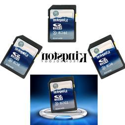 Kingston 4GB/8GB/16GB/32GB SDHC SD C4 Memory Card SD4 for Ca