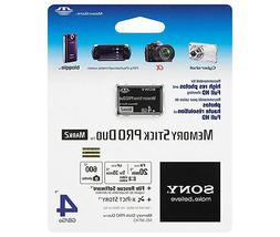 Sony 4GB Memory Stick PRO Duo Mark 2 MSPD 4G for PSP Camera