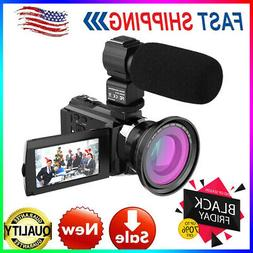 Andoer 4K 1080P 48MP WiFi Digital Video Camera 16X Zoom IR I