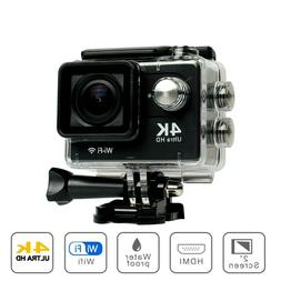 """4K Action Camera H9 Ultra HD 30fps WiFi 2"""" Remote Ultra Wate"""