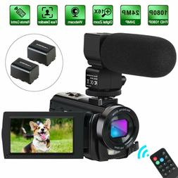 CofunKool 4K Camcorder Vlogging Video Camera YouTube 60FPS 4