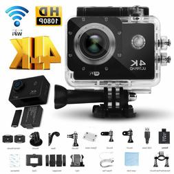 4K Ultra HD 16MP Sport DV Action Cam Helmet Camera water pro