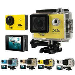 4K Ultra HD DV 16MP 1080p 60fps Sports Action Camera + Full