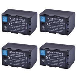 4Pcs SSL-JVC75 SSLJVC75 SSL-JVC50 JVC50 <font><b>Battery</b>