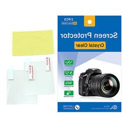 """4x LCD Screen Protector Film for Sony Camcorder 3.5"""" 3.5 Inc"""