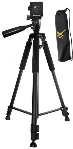 """60"""" Tripod For Canon VIXIA HF R800 R700 R600 R82 R80 R72 R70"""