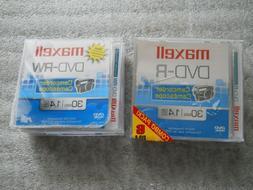 Maxell 8-Pack Mini DVD-R/ DVD-RW Camcorder Media 1.4 GB 30-M