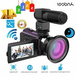 ANDOER WIFI 4K HD 1080P 48MP 3'' TOUCHSCREEN DIGITAL VIDEO C