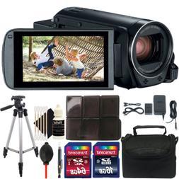 Canon VIXIA HF R800 HD Camcorder  + 80GB Accessory Kit + Tri