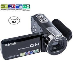 Case of 50, Besteker Camera Camcorders HD 1080P 24 MP 16X Di