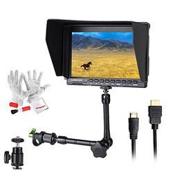Feelworld FW759 7 inch Ultra HD 1280x800 IPS Screen Camera F