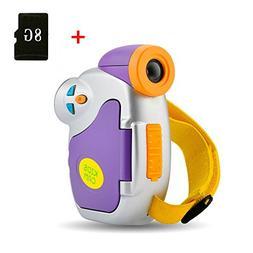 Hangang Digital Camera for Kids, Kids Camera, 1.44 Inch Full