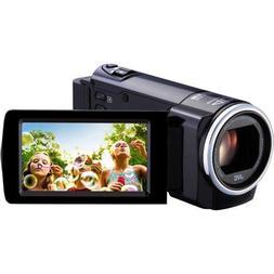 JVC Everio GZ-HM35BUSD 1080p HD Flash Memory Camcorder | Bla